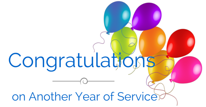 Congratulations To Our Employees