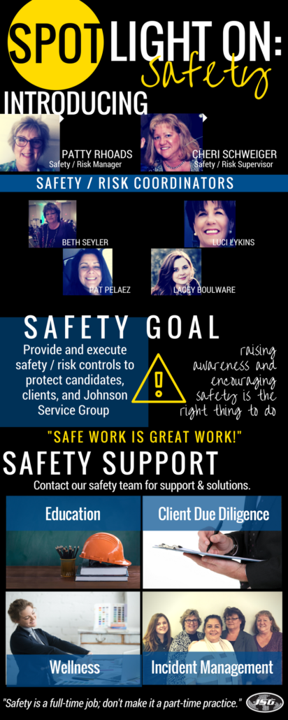 JSG Spotlight on Safety