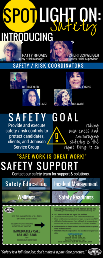 JSG Spotlight On Safety: September 2017 Contractor Newsletter
