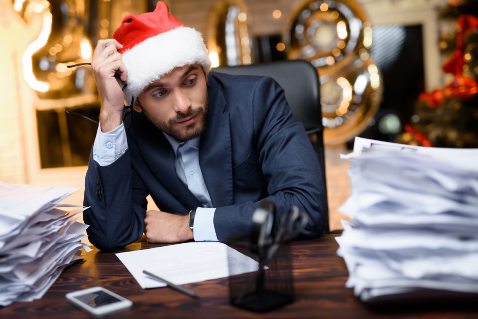10 ways to stay productive at work during the holidays