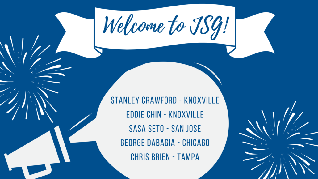 JSG September New Hires