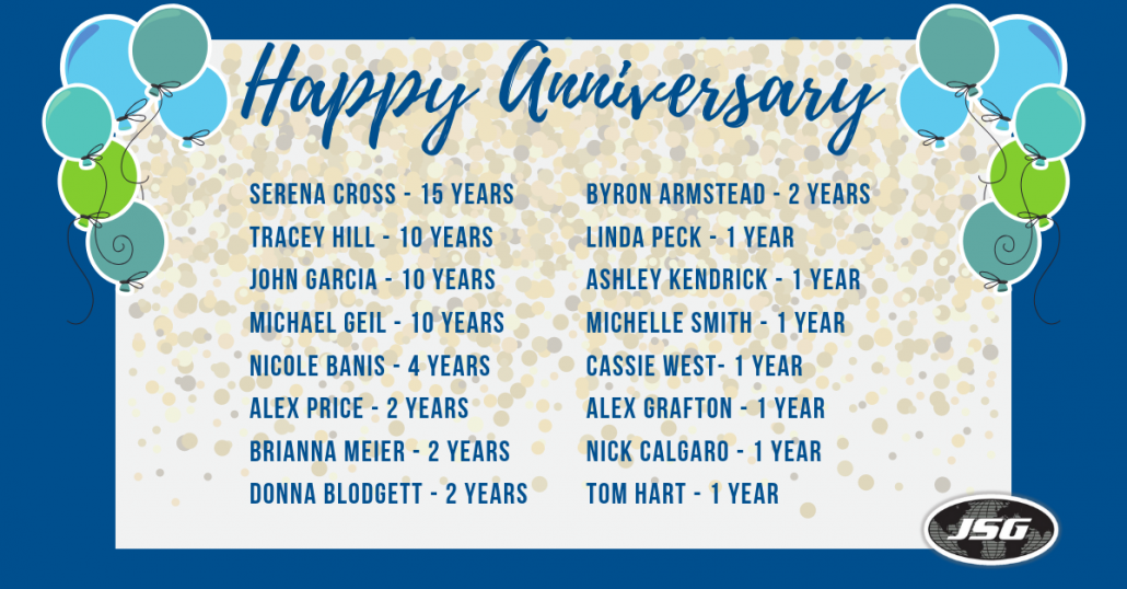 March Anniversaries