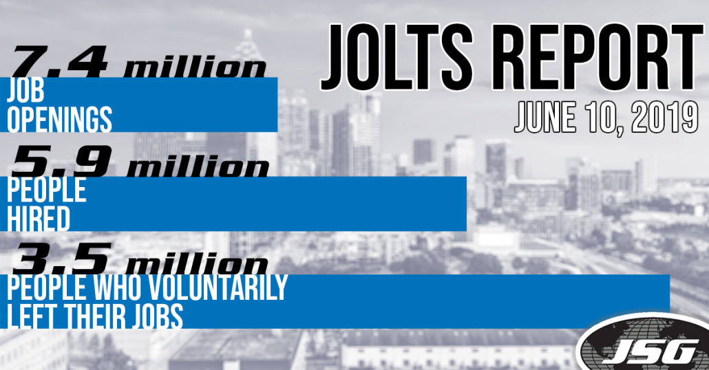 June 2019 JOLTS Report