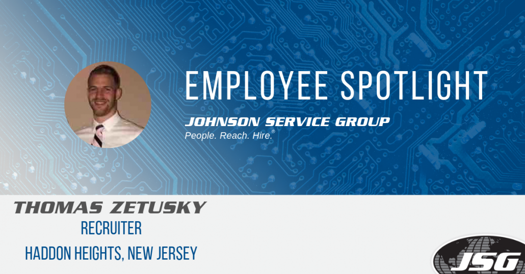 JSG Employee Spotlight: Thomas Zetusky