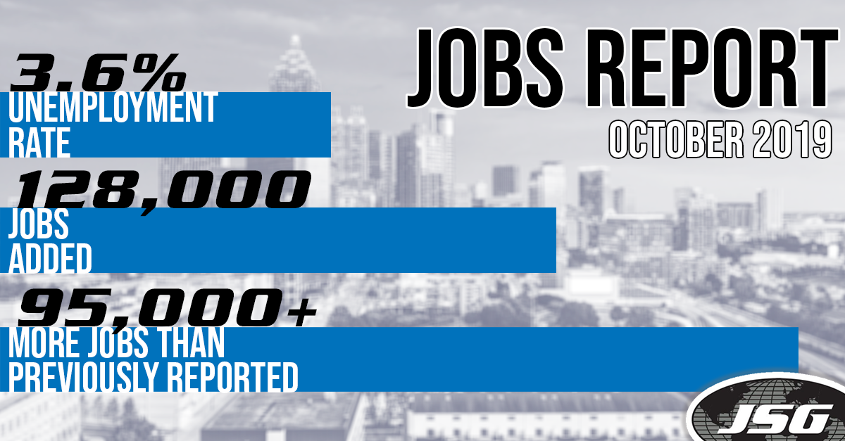October Jobs Report