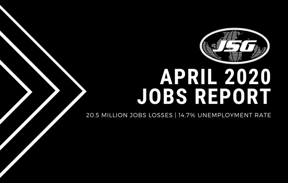 April 2020 Jobs Report