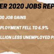 October 2020 Jobs Report
