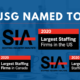 JSG Named to Three of Staffing Industry Analysts' (SIA) Lists