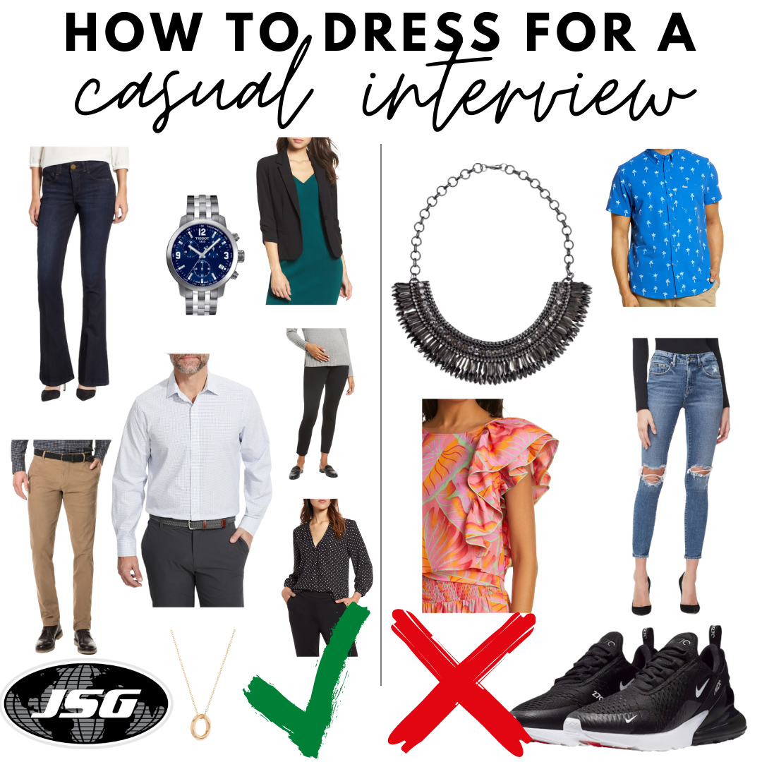 How To Dress For A Casual Interview